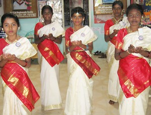 Velugu students are good dancers